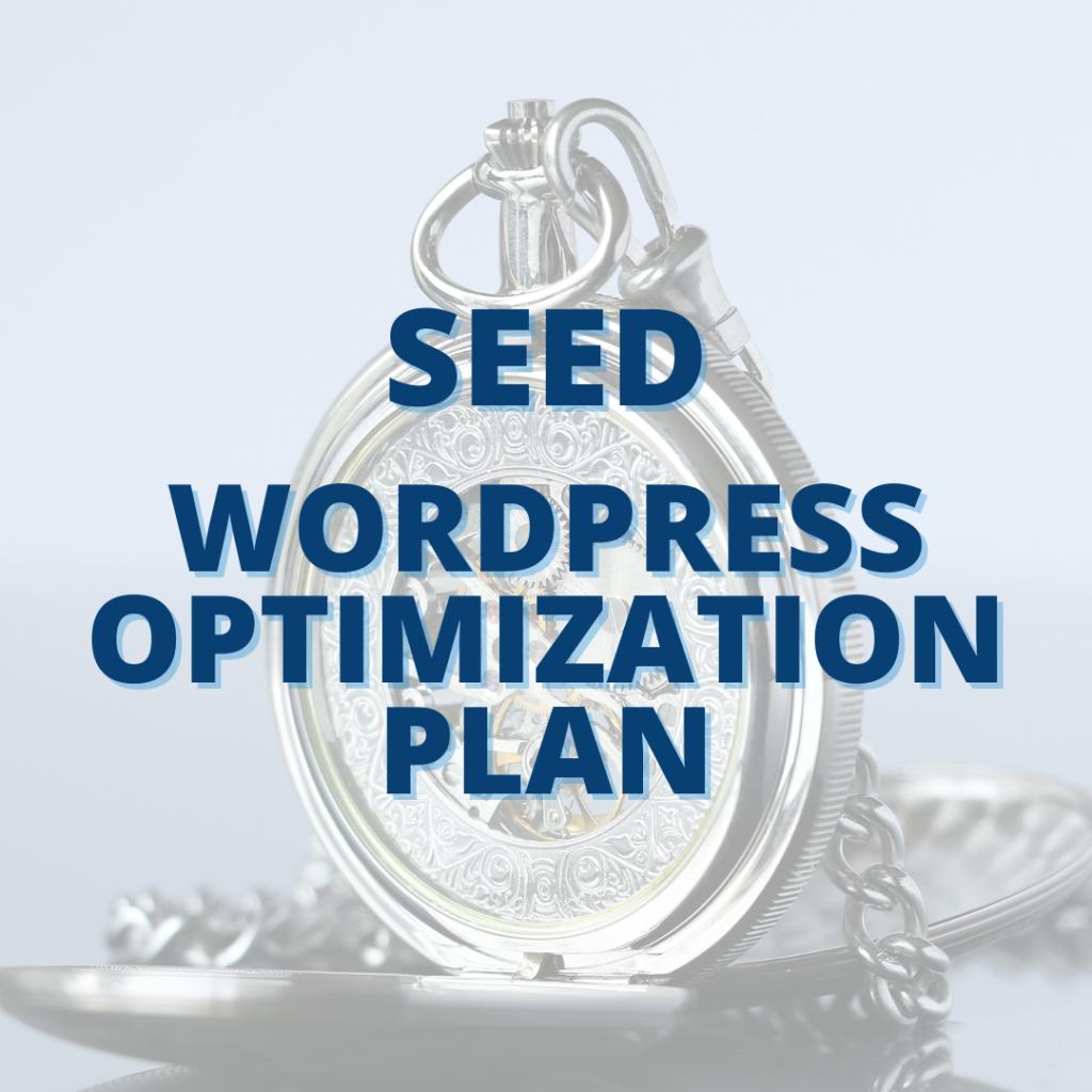 image for Seed WordPress Optimization Plan