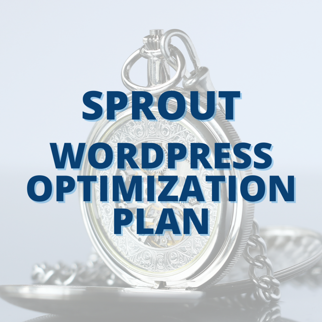 image for Sprout WordPress Optimization Plan