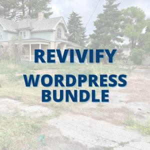 Revivify Wordpress Bundle